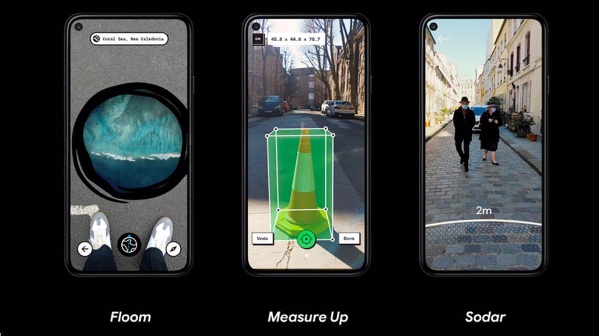 Las utilidades de realidad aumentada de Google para Android.