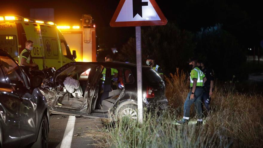 Los dos fallecidos en el accidente de Son Ferriol eran dos chicos de 18 y 19 años