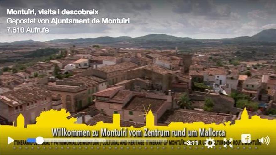 Montuïri präsentiert sich mit Werbevideo auf Facebook