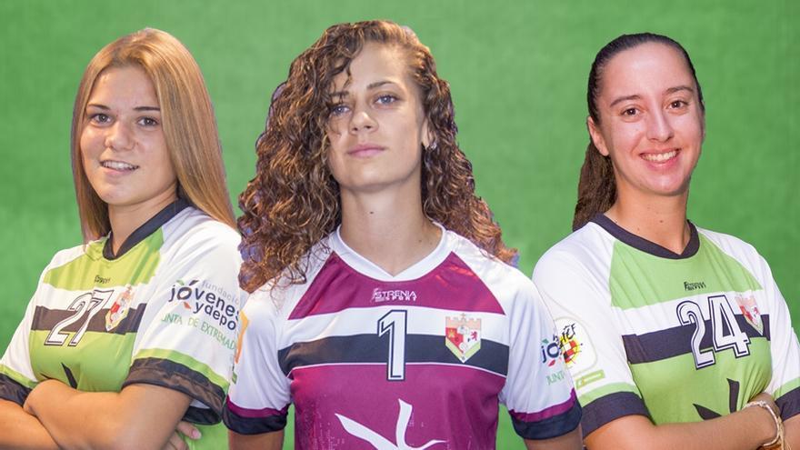 Tres jugadoras del Femenino Cáceres, convocadas por la selección española de fútbol playa