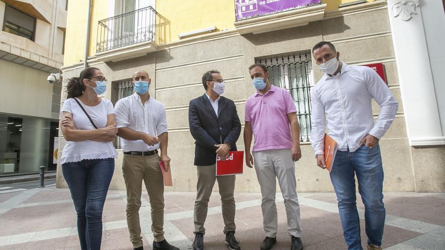 """La izquierda acusa a Barcala de """"secuestrar"""" el debate político en Alicante"""