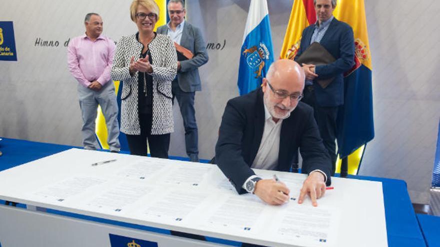 Cabildo e ITC potencian la biotecnología azul en el Sureste
