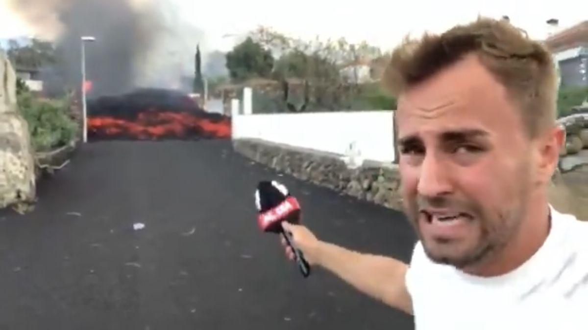 Alejandro Rodríguez, reportero de Cuatro.