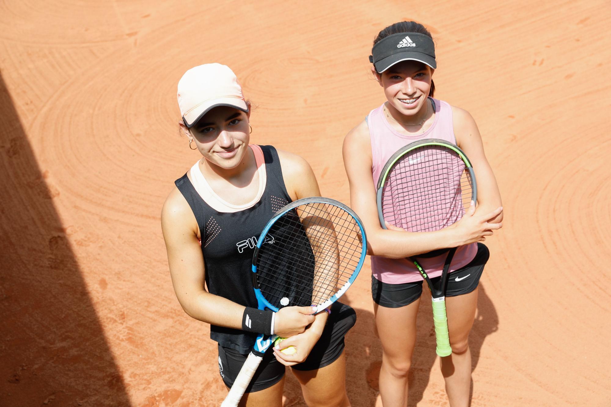 El día después de la victoria de Carreño en el Club de Tenis de Avilés: