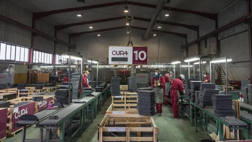 Carlyle busca nuevo dueño para la gallega Cupa, líder mundial de producción de pizarra natural