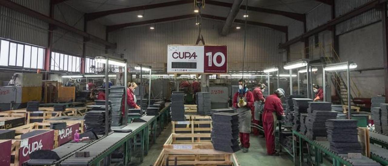 Interior de uno de los centros de producción de Cupa. |   // CUPA GROUP