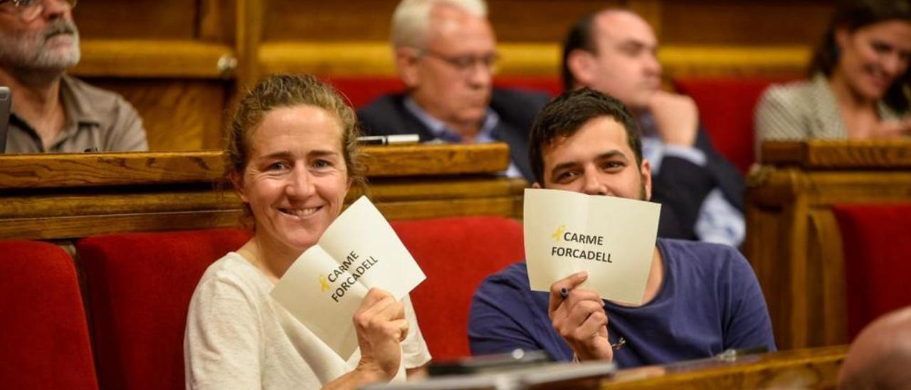 Picas s'estrena al Parlament