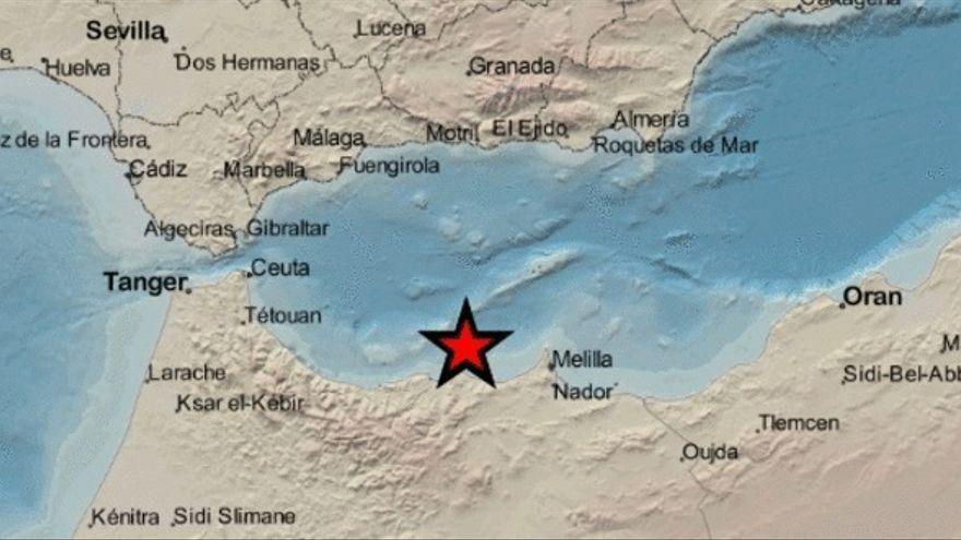 Un terremoto de magnitud 4.9 se deja sentir en Melilla, Málaga, Granada, Almería y Jaén