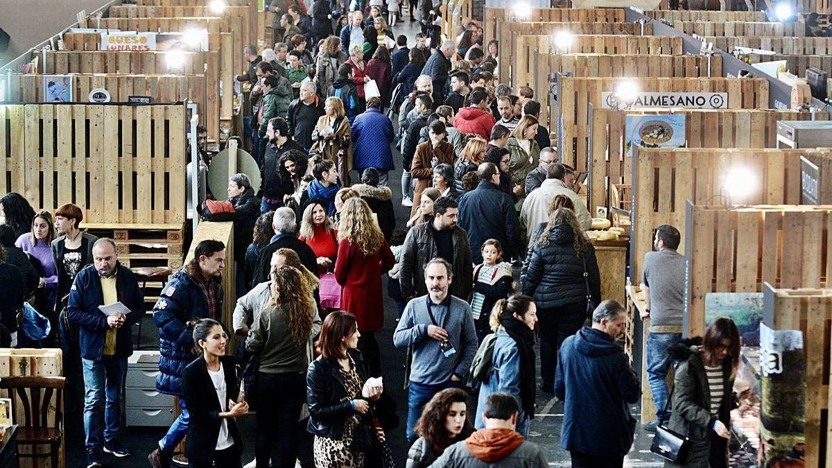 Ambiente en el Recinto Feiral de Pontevedra en la última edición del evento gastronómico.