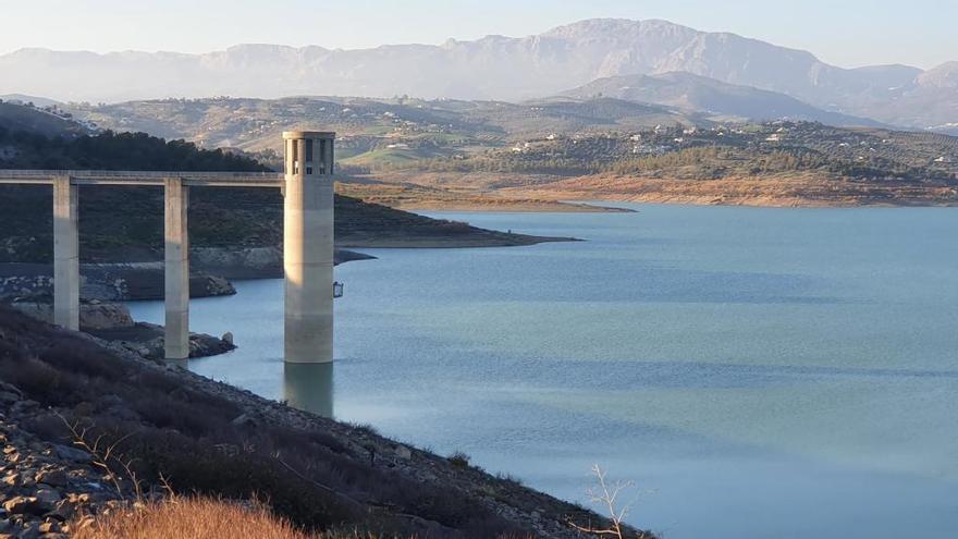La sequía mantiene a los embalses con un 20% menos de agua que hace un año