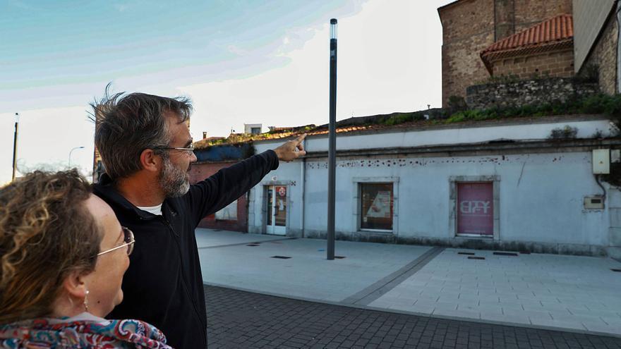 Una octava parte de la muralla de Avilés está en pie