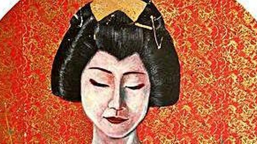 El rostro femenino, protagonista de la última exposición de Aída Miró