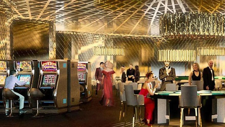 Arrancan en la zona norte las obras del Gran Casino de Orenes