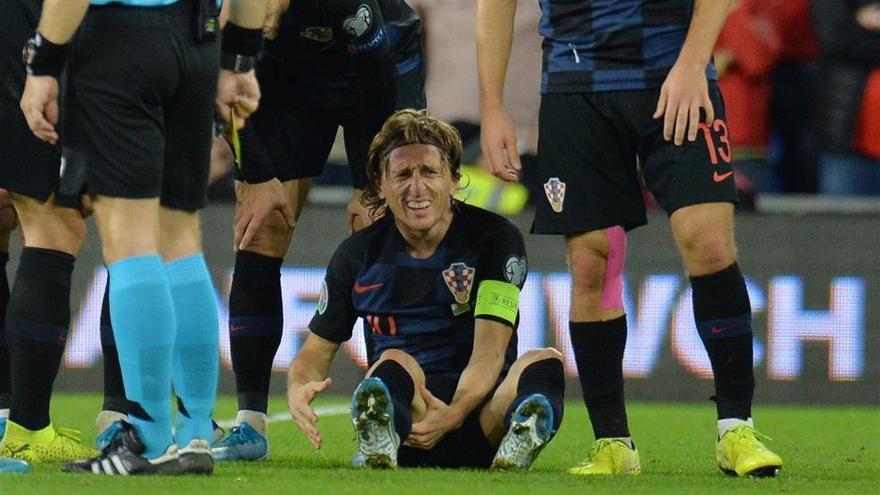Modric y Bale se lesionan en el Gales-Croacia