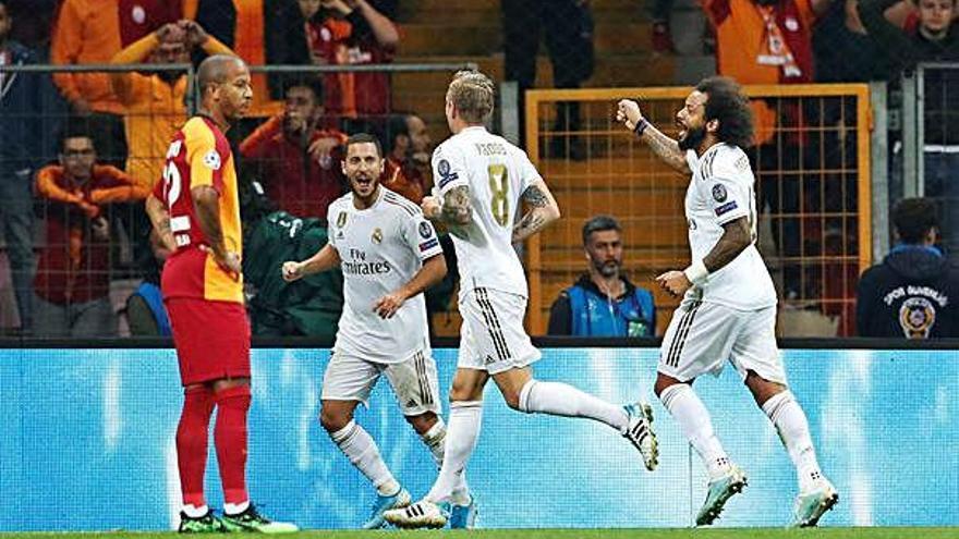 El Reial Madrid viu la seva primera alegria europea