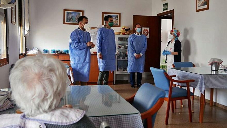 Antonio López visita Cañete de las Torres
