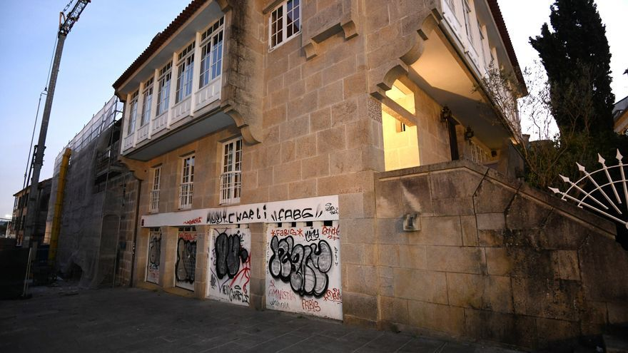 La Policía identifica a un grafitero y está sobre la pista de otros que realizaron pintadas en el centro histórico