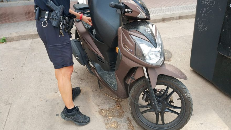 La Policía de Alboraia detiene a un ladrón que cometió diversos hurtos en coches el mismo día