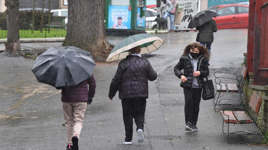 Febrero llega con alertas por temporal costero en Galicia