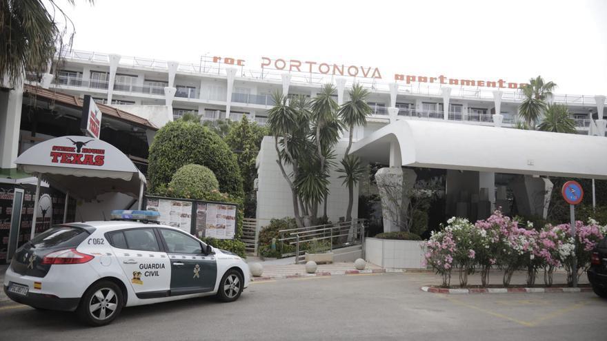 Investigan la caída de una mujer desde un apartamento en Palmanova