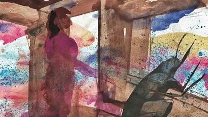 Barceló pinta 'La metamorfosis' de Kafka