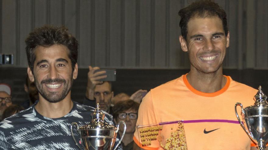 Nadal y López, campeones de España de dobles 2016