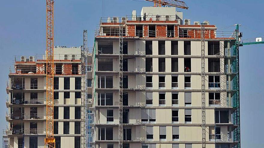 El tamaño de las viviendas vendidas llega a su máximo histórico en la C. Valenciana