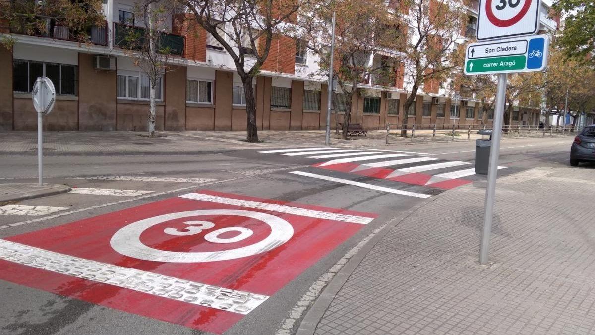 Velocidad calles de Palma