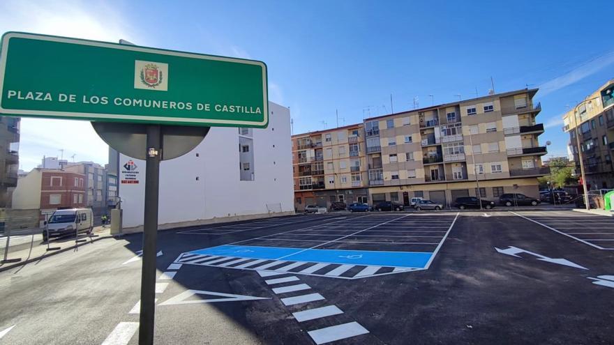El centro de Elda dispone de 44 nuevas plazas de aparcamiento