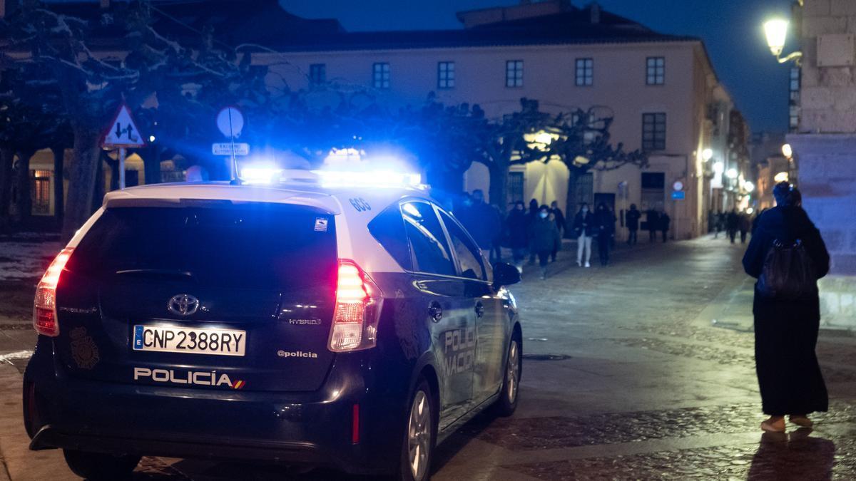Policía en Zamora