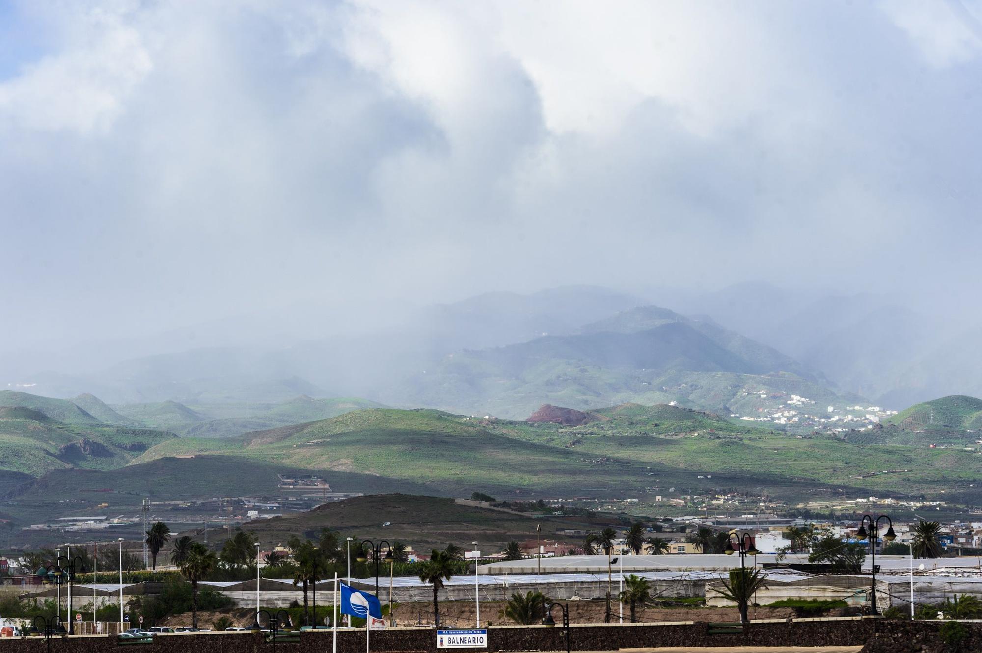 Lluvia y viento este miércoles, Día de Reyes, en Gran Canaria