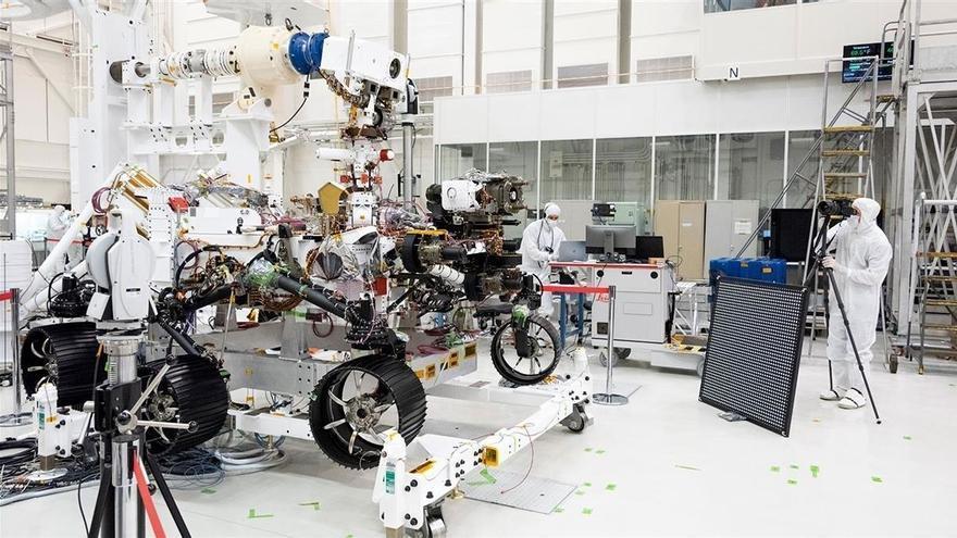 La NASA mueve ficha para llevar rocas de Marte a la Tierra