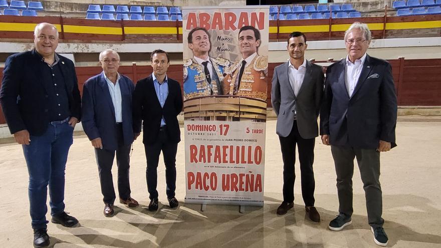 Mano a mano entre Rafaelillo y Paco Ureña el próximo día 17 en Abarán