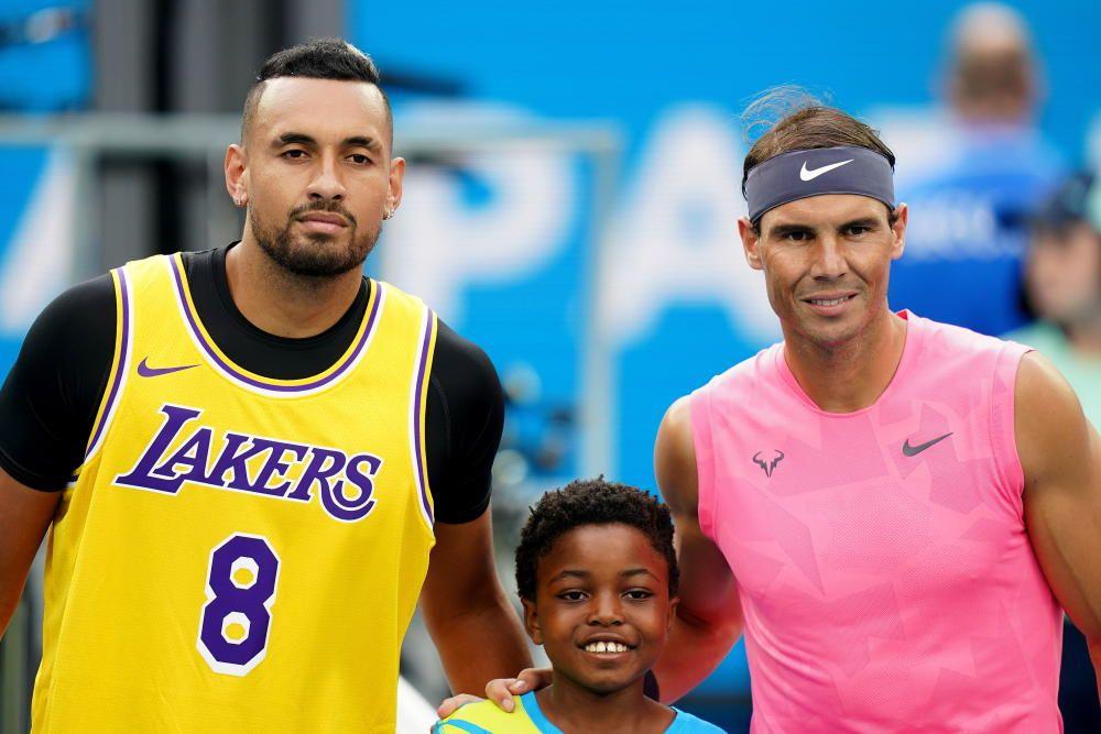 Open de Australia: Nadal - Kyrgi