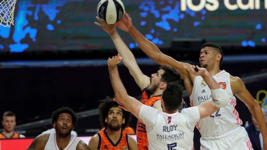 Copa del Rey de baloncesto: El Madrid, a semifinales a hombros de Deck y Thompkins