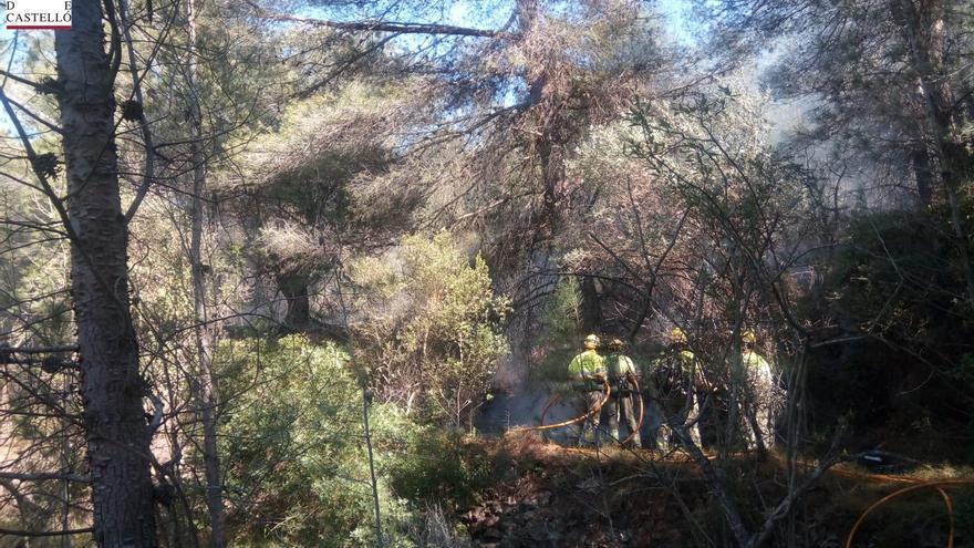 Controlado un incendio forestal declarado en Sant Joan de Moró