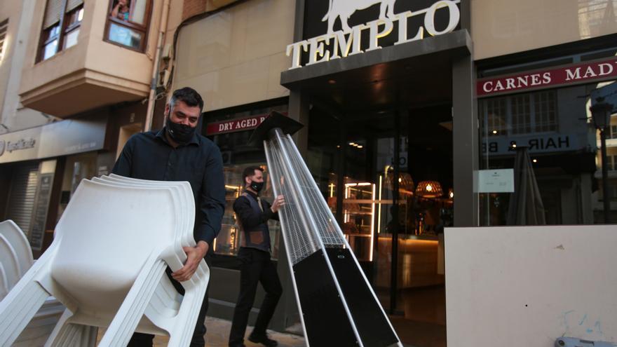 El cierre de la hostelería y las nuevas restricciones abocan al ERTE a 40.000 empleados en Alicante