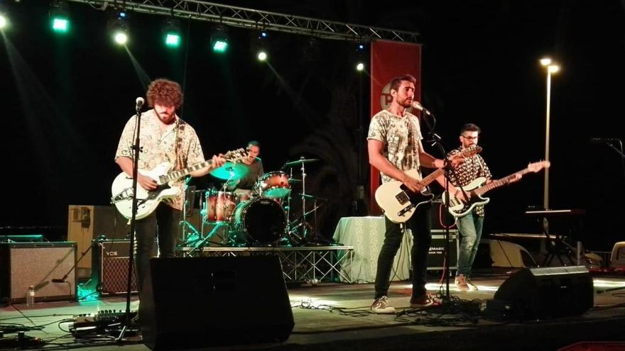 La energía y frescura del pop-rock de Funicular cierra hoy el 'Murcia en Verano'