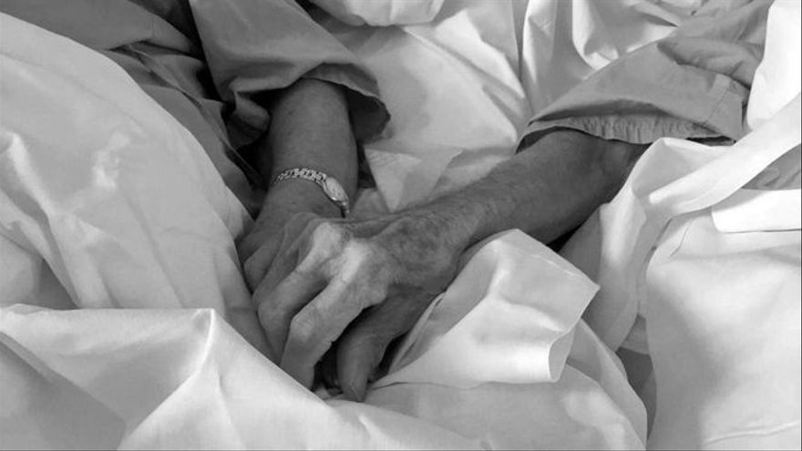 La romántica y viral declaración de amor de un anciano