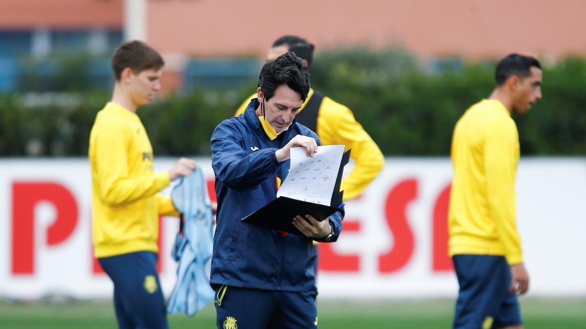 La preparación de Unai Emery ha saltado por los aires debido al aplazamiento del Villarreal-Alavés.