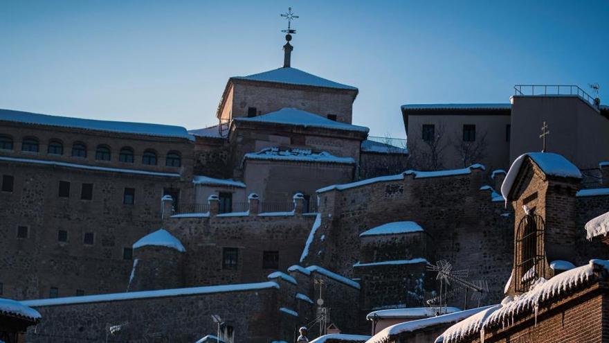 Filomena también deja daños en el patrimonio monumental de Toledo