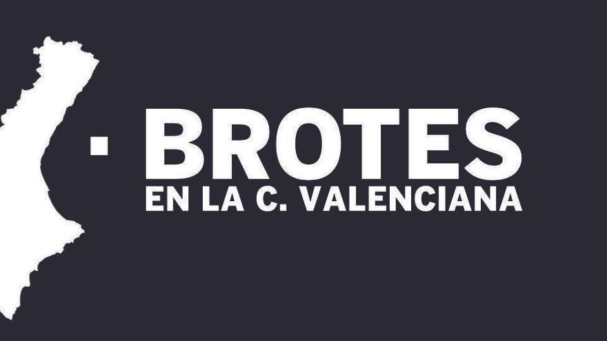 Dónde están los 162 brotes de coronavirus de la C. Valenciana