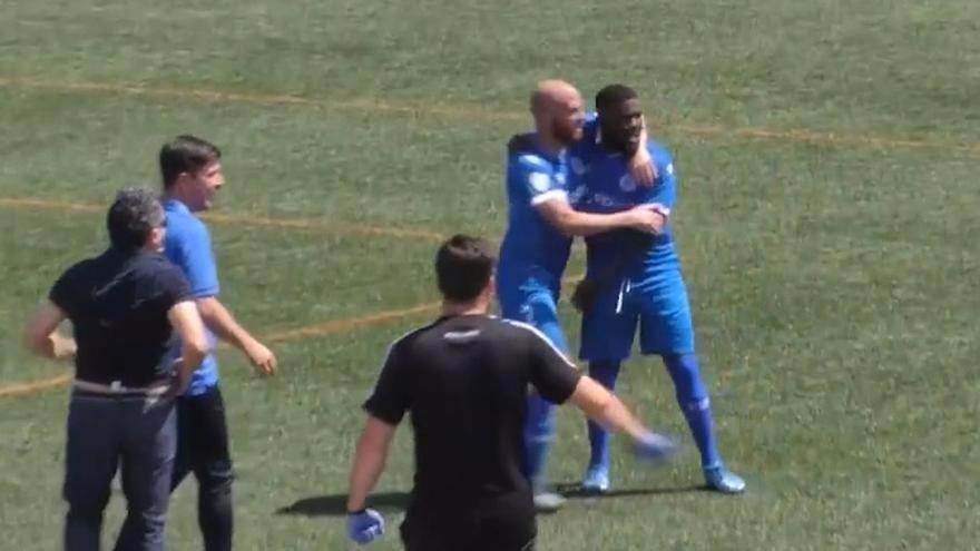 El espectacular gol de Drenthe en la victoria del Racing Murcia ante el Imperial
