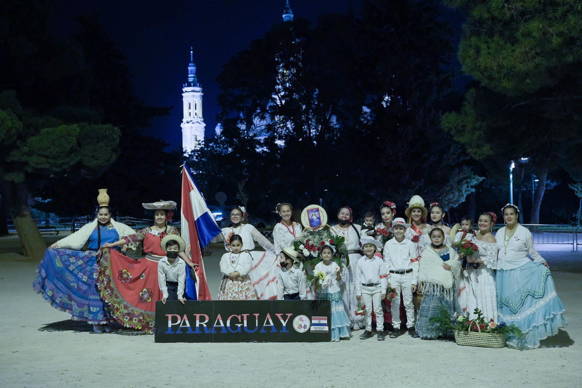 PARAGUAYOS Y AMIGOS - ASI PARAGUAY 8 DE DICIEMBRE