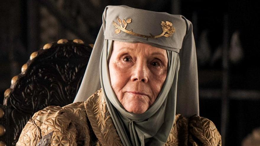 Mor Diana Rigg, Olenna Tyrell a «Joc de Trons»