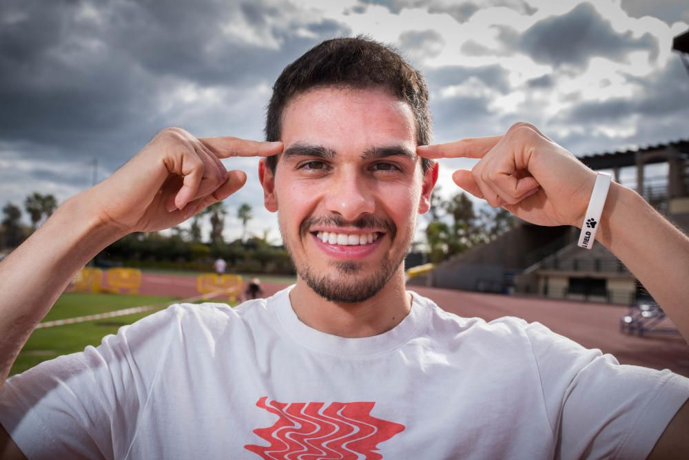 Entrevista con el atleta Bruno Hortelano