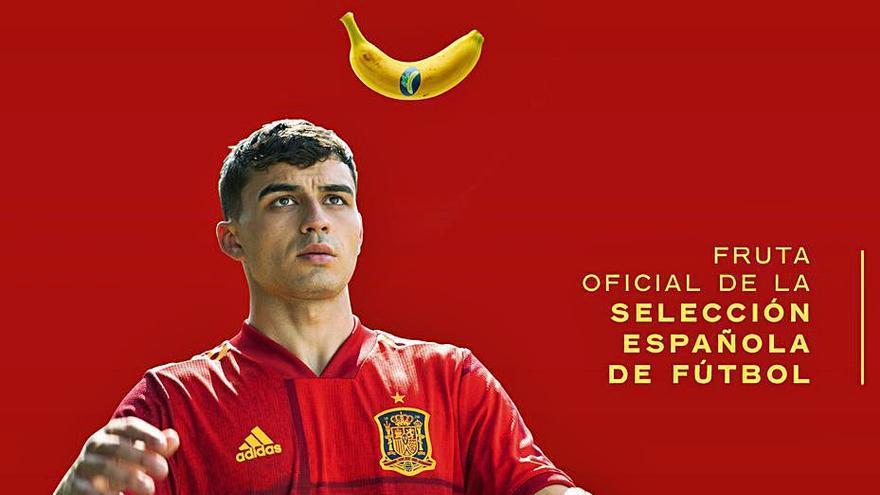 Plátano de Canarias, primera fruta oficial de la selección
