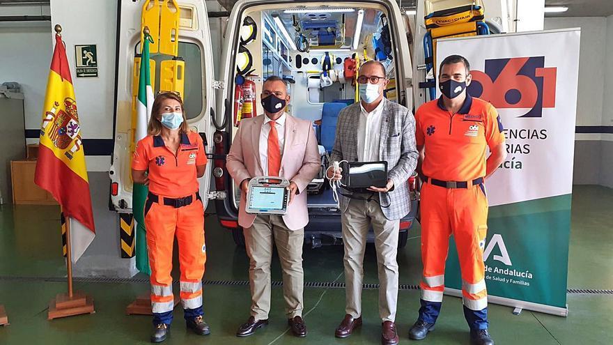 El 061 investiga en Málaga el uso de ecógrafos en emergencias sanitarias