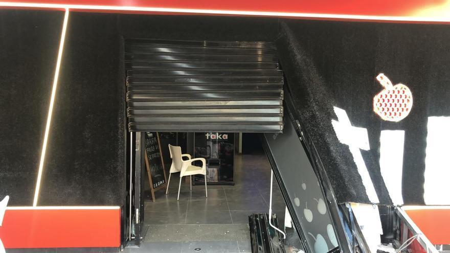 Cuatro encapuchados se saltan un control de la Guardia Civil y roban en un cajero de Librilla