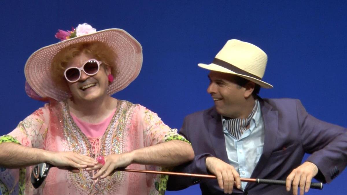 Un momento del espectáculo 'Turist (or not turist)' de Clownic que podrá disfrutarse en el Teatro Leal.